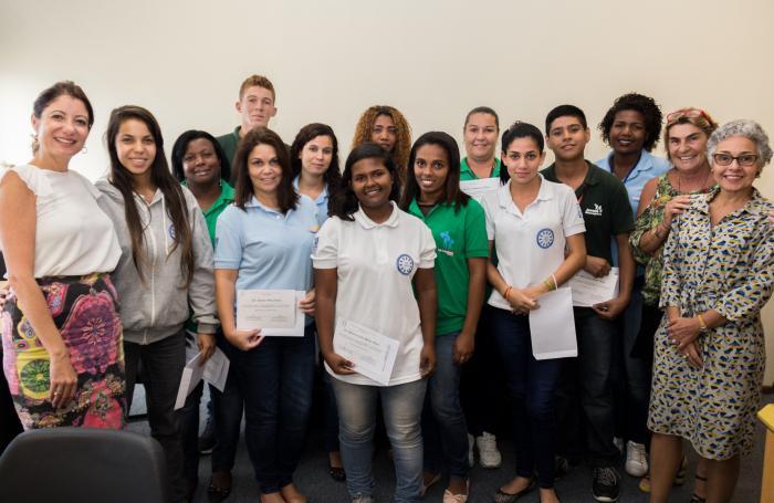 A magistrada considerou primordial a atuação dos jovens na campanha (Foto: Brunno Dantas/TJRJ)