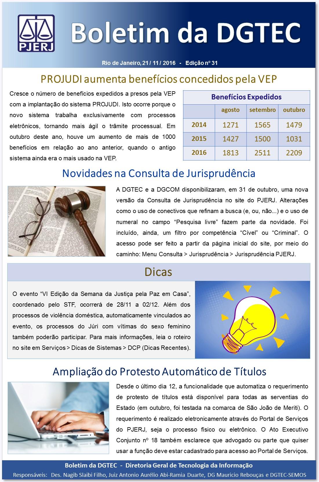 5b17fb77712e0 Boletins da DGTEC - Tribunal de Justiça do Estado do Rio de Janeiro