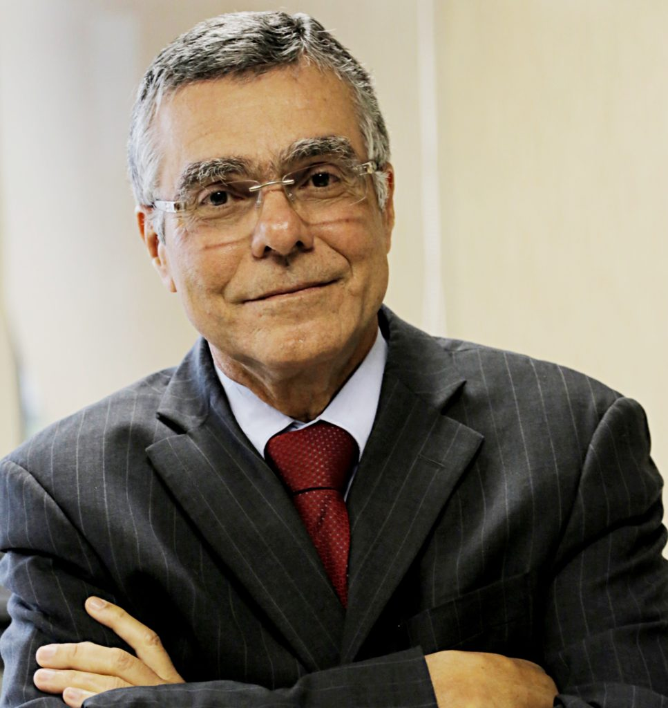Foto do Presidente Milton Fernandes de Souza