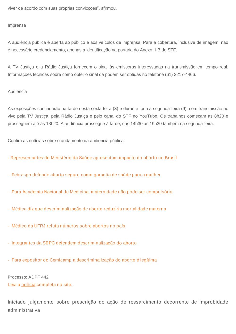 9b68520d779fc Notícias - Tribunal de Justiça do Estado do Rio de Janeiro