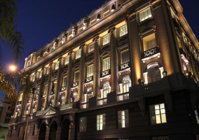 Foto, o Museu da Justiça está localizado no prédio do Antigo Palácio da Justiça, recém-restaurado.