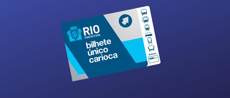Ilustração de Bilhete Único Carioca