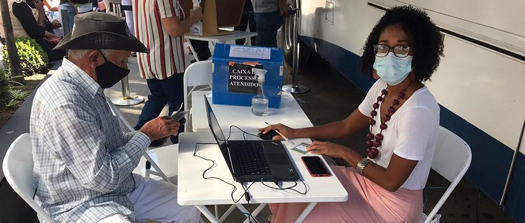 Justiça Itinerante faz mais de mil atendimentos em postos volantes no mês  setembro