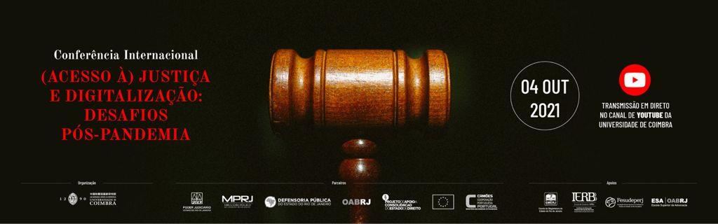 Desembargador do TJRJ participa de conferência internacional promovida pela Universidade de Coimbra