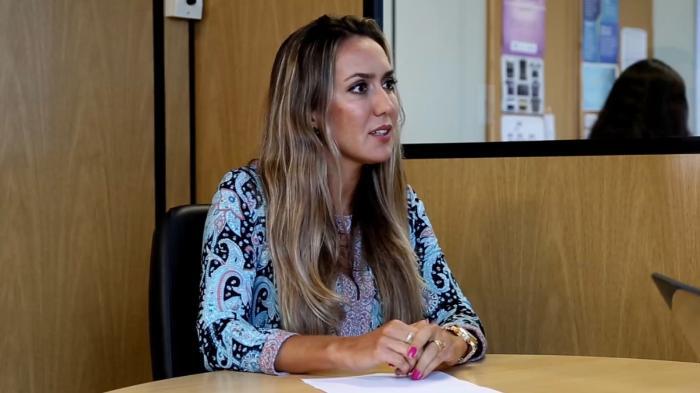 A magistrada explicou a importância de integrar jovens em situação de vulnerabilidade