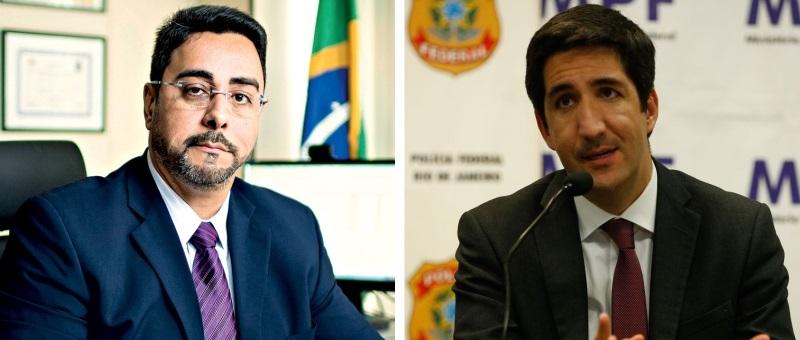 O juiz federal Marcelo Bretas e o procurador da República Eduardo El Hage, que vão falar sobre corrupção
