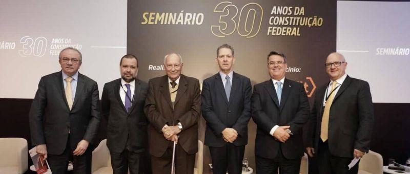 Cesar Asfor Rocha, Marcos Joaquim, Ives Gandra Martins, João Otávio de Noronha, Claudio de Mello Tavares e Márcio Chaer