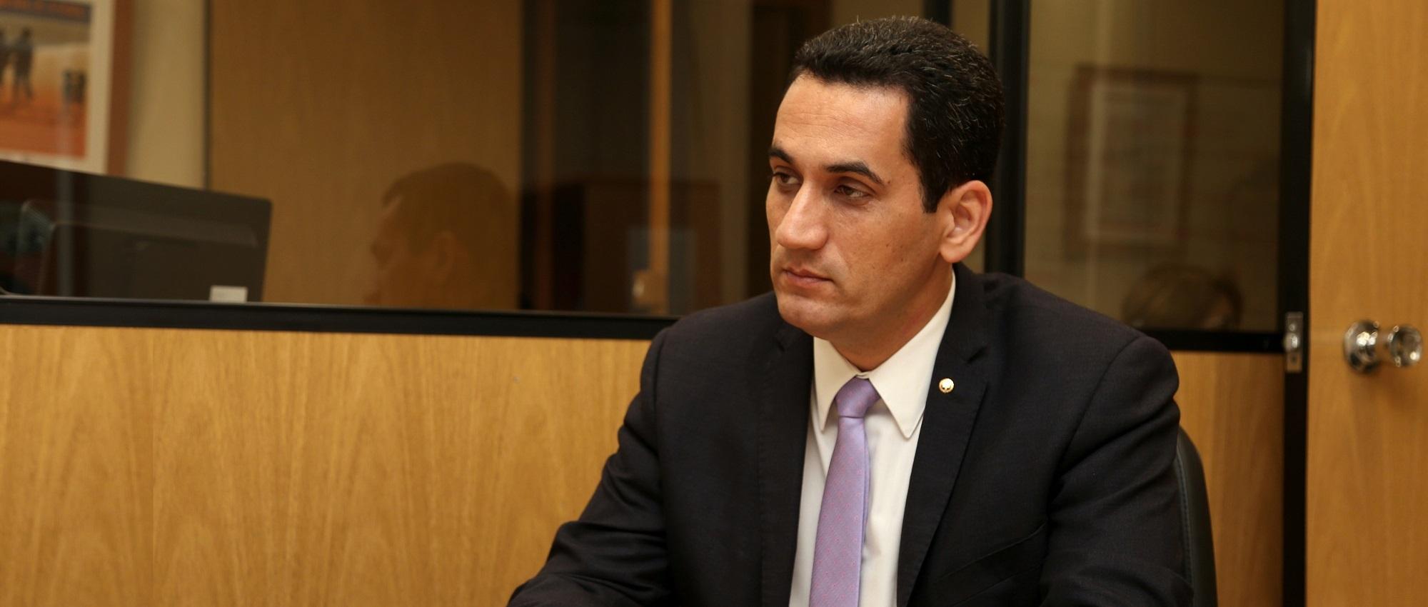 O juiz Sérgio Luiz Ribeiro, que foi designado pelo presidente do CNJ para participar do Fórum Nacional da Infância e da Juventude