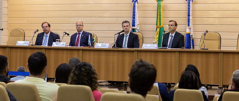 Seminário fez parte das atividades da 135ª reunião do Fórum Permanente de Direito Ambiental da Escola de Magistratura do Estado do Rio de Janeiro