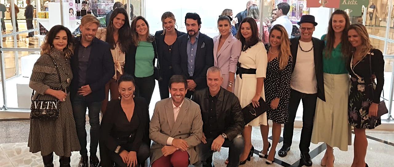 Juízes da Vara da Infância, da Juventude e do Idoso da Capital e celebridades participam do lançamento da campanha