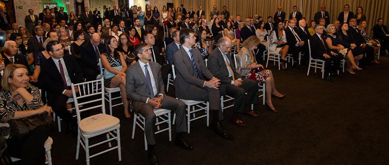 Cerimônia foi realizada no Foyer do Fórum Central do Tribunal de Justiça do Rio de Janeiro