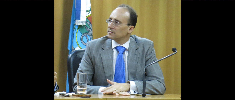 O juiz Alexandre Chini, que foi designado para o Comitê dos Cadastros, pelo presidente do CNJ, ministro Dias Toffoli
