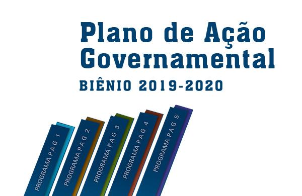 Plano de Ação Governamental Bienio 2019-2020