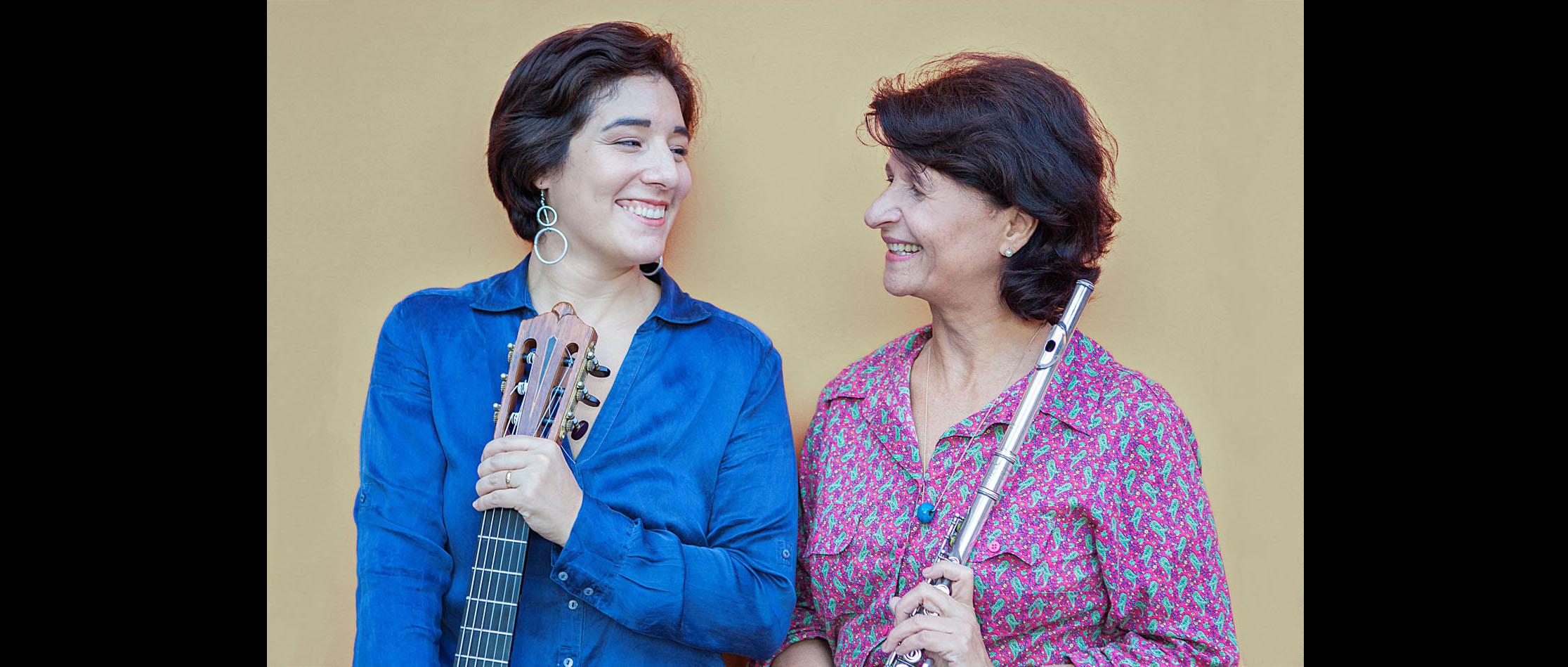 Andrea Ernest Dias e Elodie Bouny tocam nesta quarta-feira, às 18h, no Salão Histórico do Tribunal Pleno, no Antigo Palácio da Justiça de Niterói