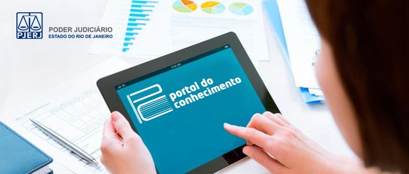 O novo portal conta com ambiente responsivo, adaptado para tablets e smartphones