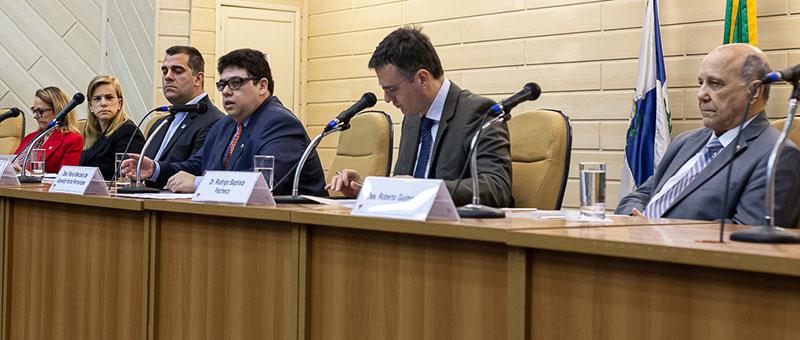Evento foi realizado no Auditório Antônio Carlos Amorim, no Fórum Central do Tribunal de Justiça do Estado do Rio de Janeiro