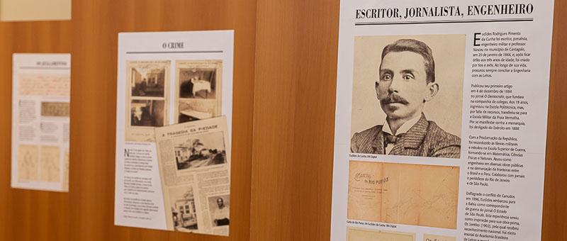 Documentos judiciais do processo de homicídio e do inventário do escritor e jornalista estão expostos de segunda à sexta-feira, das 11 às 19 horas