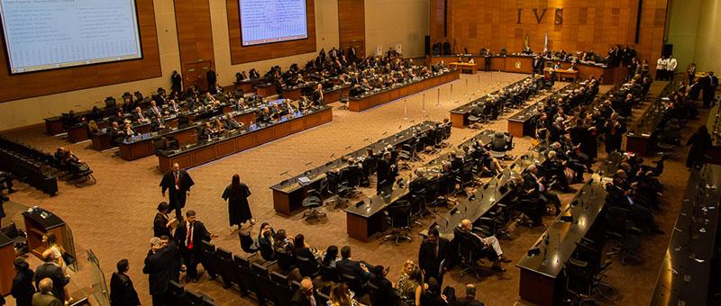Sessão do Tribunal Pleno: desembargador Cláudio Brandão foi um dos eleitos
