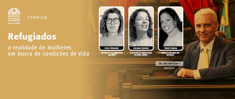 Museu da Justiça realiza evento sobre refugiados no Brasil