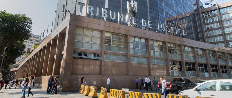 Fachada do Tribunal de Justiça - Justiça nega pedido contra decreto do Rio que institui o passaporte da vacina